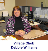 Debbie Williams- Village Clerk